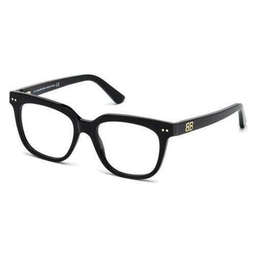 Okulary korekcyjne ba5089 001 marki Balenciaga
