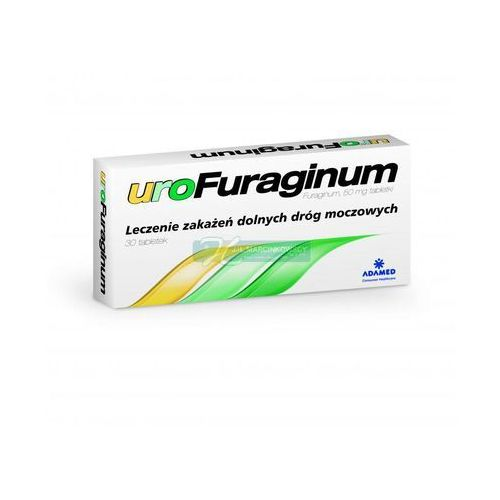 Urofuraginum 50 mg x 30 tabl - produkt farmaceutyczny