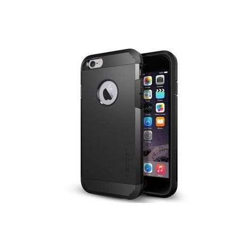 Apple iPhone 6 - etui na telefon Spigen Tough Armor - czarny, kolor czarny