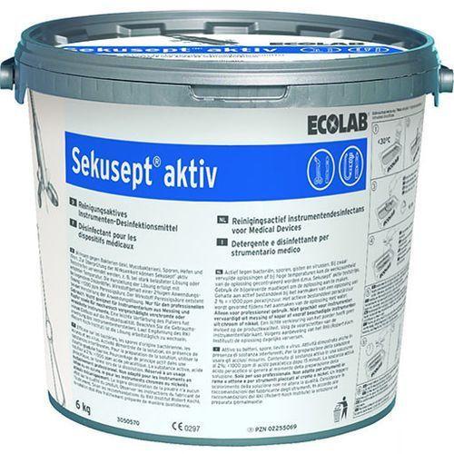 Środek do dezynfekcji instrumentów medycznych sekusept aktiv 6 kg marki Ecolab