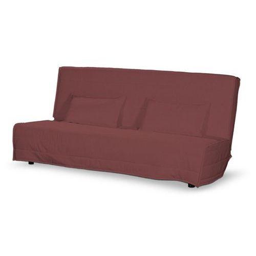 Dekoria Pokrowiec na sofę Beddinge długi i 2 poszewki, rudo-brązowy sztruks, Sofa Beddinge, Living