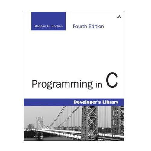 Programming in C, Kochan, Stephen G.