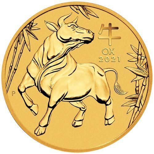 Moneta Rok Wołu 2 uncje złota 2021 - wysyłka 24h!
