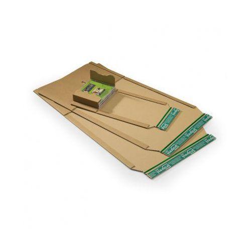 Uniwersalne koperty kartonowe wysyłkowe z tektury A5+, 100 szt.