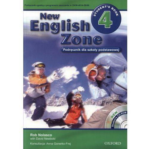 New English Zone 4 Podręcznik z płytą CD, Nolasco, Rob / Newbold, David