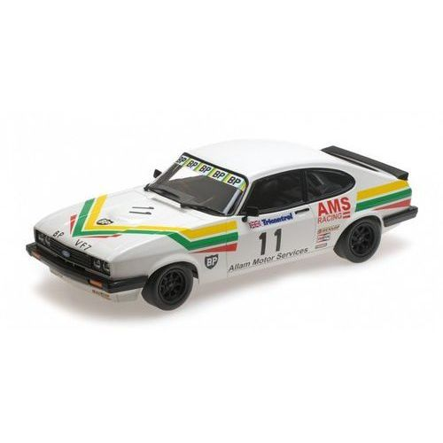 Minichamps Ford capri 3,0 allam motor services rac. #11 j. allam winner silverstone club circuit race bscc 1979