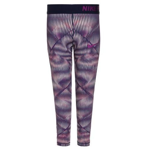 Nike Performance PRO HYPERCOOL ALLOVER Legginsy sunset tint/binary blue/bold berry