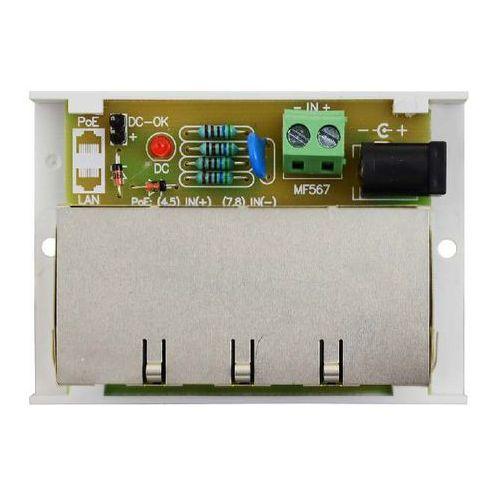 Pulsar Awz613 moduł dystrybucji zasilania do kamer ip (poe) kątowy poe4/4x1a/1,5