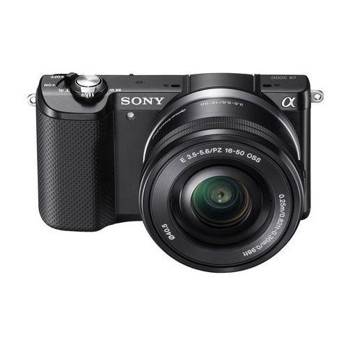 Alpha A5000 marki Sony - lustrzanka cyfrowa