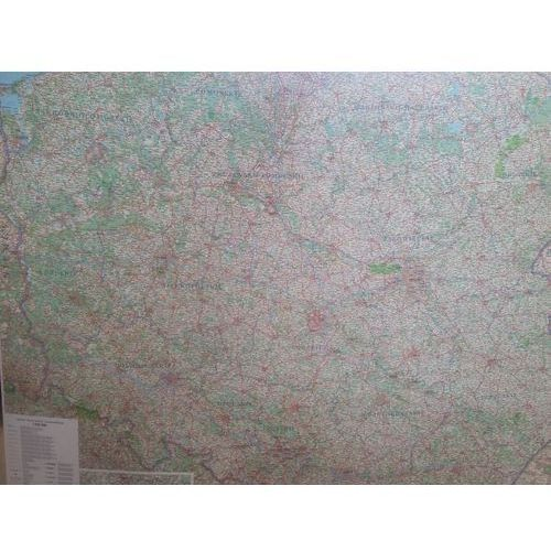 Mapa Ścienna Polski 1:650000 - Praca zbiorowa (9788362494354)