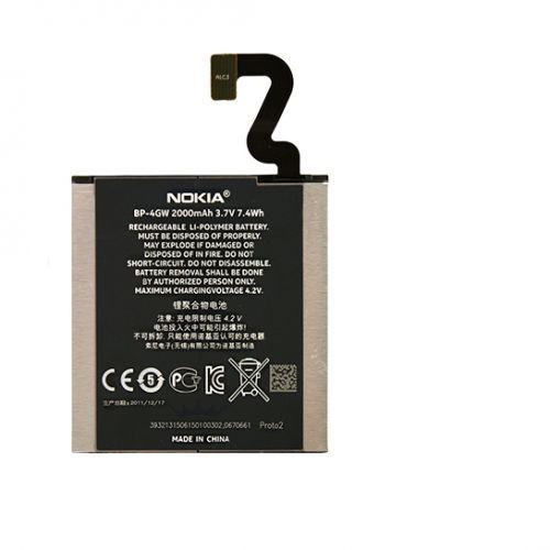 Nokia Lumia 920 / BP-4GW 2000mAh Li-Ion 3.7V (oryginalny), BP-4GW