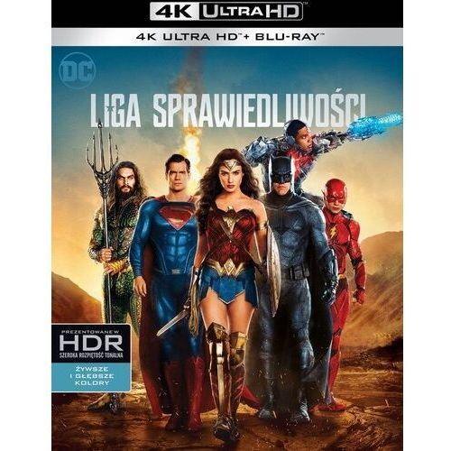 Warner bros Liga sprawiedliwości (2bd 4k) (płyta bluray)