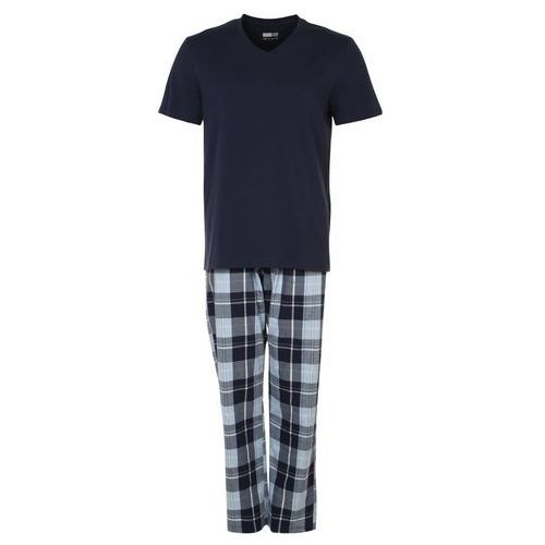Pier One Piżama dark blue, materiał bawełna, niebieski