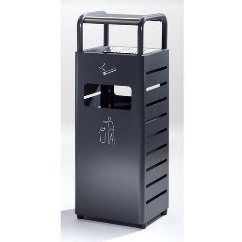 Popielniczka combi, poj. pojemnika na odpady 20 l, poj. popielniczki 2,3 l, wys. marki B2b europe