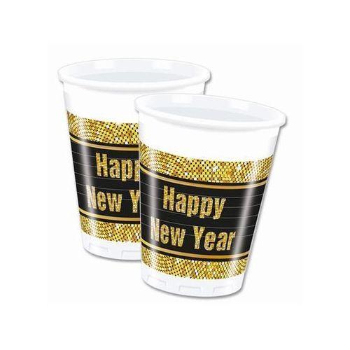 Kubeczki retro happy new year - 200 ml - 8 szt. marki Procos