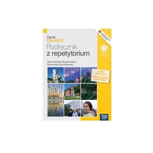 Das ist Deutsch! Gimnazjum. Język niemiecki. Podręcznik z repetytorium (+CD), Mróz-Dwornikowska Sylwia