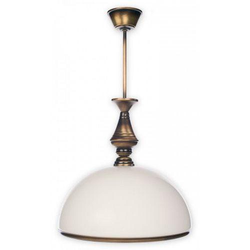 Lemir Hektor 1137/W1 Lampa wisząca zwis oprawa 1x60W E27 patyna, 3718