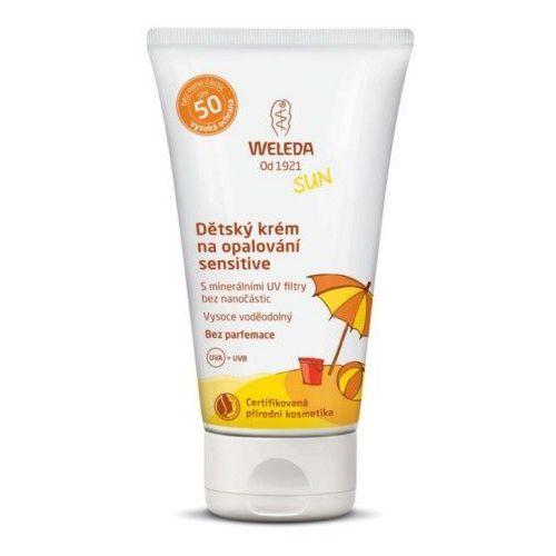 Weleda sensitiv e spf 50 krem przeciwsłoneczny 50 ml