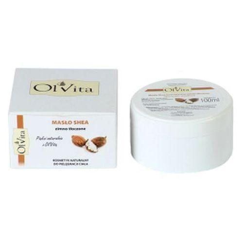 Masło shea kosmetyczne zimno tłoczone 100ml - Olvita