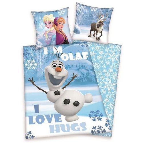 Pościel bawełniana dla dzieci Kraina Lodu Frozen, 140 x 200 cm, 70 x 90 cm, Herding