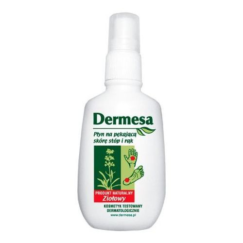 Płyn na pękającą skórę stóp i rąk -DERMESA (5906745418023)