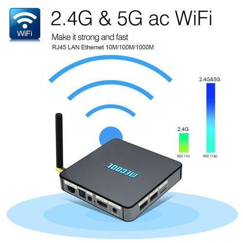 Smart tv box bb2 pro android 6.0 amlogic s912 ddr4 3gb / 16g kodi 17,0 vp9 dual band wifi 1000m lan h.265 3g 4k uhd marki Venbox