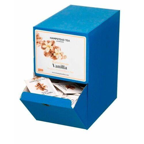 Hampstead Tea London herbata czarna BIO z wanilią z Madagaskaru, 250 szt.
