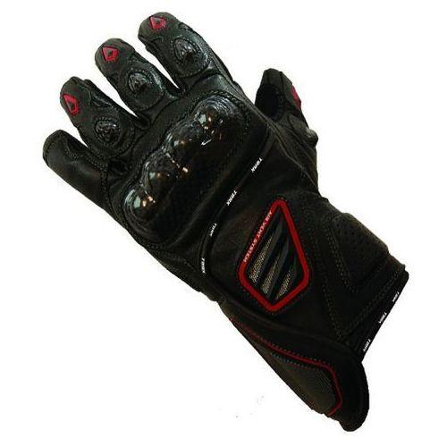 Torx rękawice skórzane letnie red devil