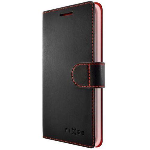 etui ochronne fit (apple iphone x), czarne marki Fixed