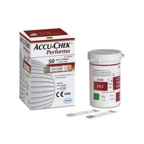Accu check performa paski testowe x 50 sztuk marki Roche