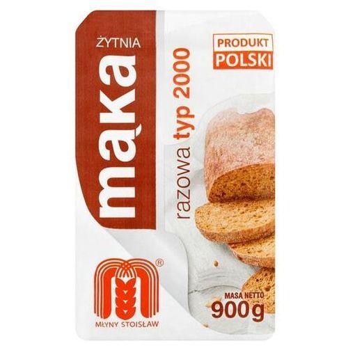 Młyny Stoisław Mąka żytnia razowa Typ 2000 900 g, M2000