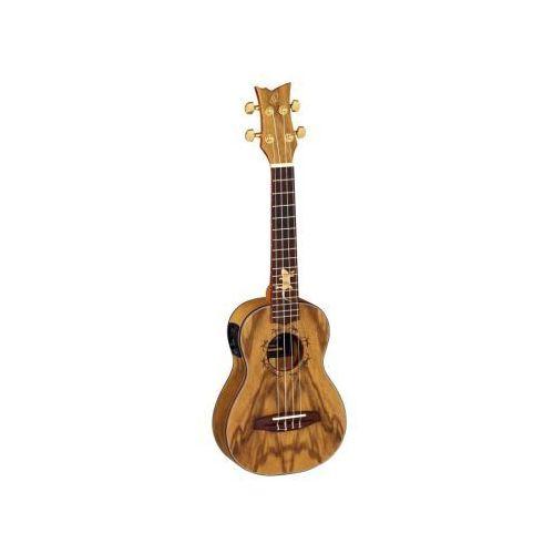 Ortega Lizard CC ukulele koncertowe z elektroniką i pokrowcem