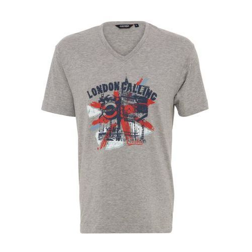 Ceceba LONDON CALLING Koszulka do spania light grey melange, kolor szary