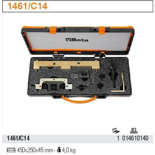Zestaw narzędzi do blokowania i ustawiania układu rozrządu w silnikach bmw vanos valvetronic, model 1461/c14 od producenta Beta