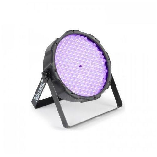 Beamz flatpar 186 x 10mm projektor par uv led dmx (8715693273809)