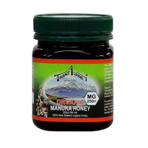 250g miód manuka mg 250+ bio marki Tranzalpine