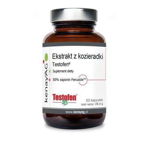 Kapsułki Testofen - Ekstrakt z Kozieradki 440 mg (60 kaps.) Gencor Pacific