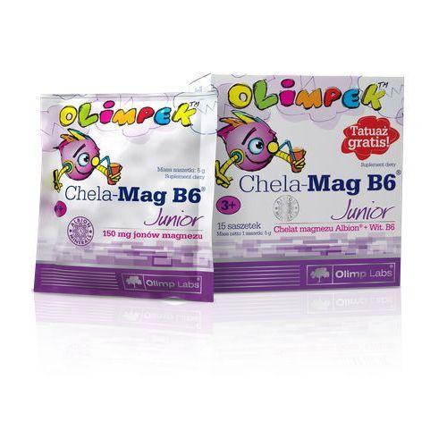 Olimp Chela Mag B6 Junior 15 saszetek o smaku pomarańczowym (5903111710798)