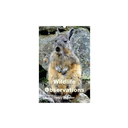 Wildlife Observations / Family Organizer (Wall Calendar 2017 DIN A3 Portrait)