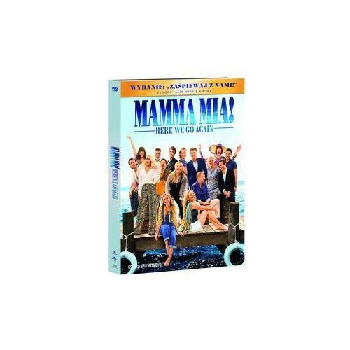 Mamma Mia Here We Go Again DVD+booklet. Darmowy odbiór w niemal 100 księgarniach!
