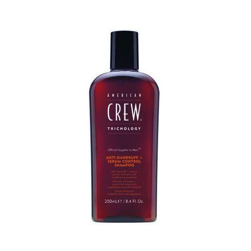 anti dandruff + sebum control - szampon dla problematycznej skóry głowy 250ml marki American crew