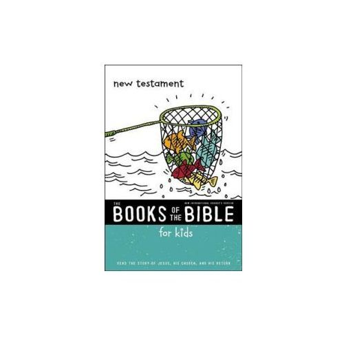 NIrV, The Books of the Bible for Kids: New Testament, Paperback (9780310761310)