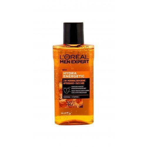 L´oréal paris men expert hydra energetic 2in1 morning skin drink balsam po goleniu 125 ml dla mężczyzn (3600523649273)