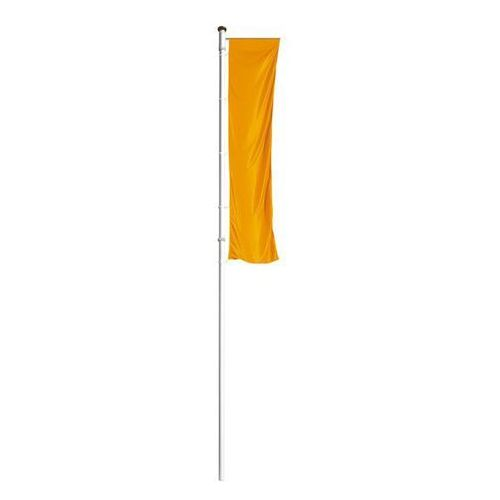 Maszt flagowy z aluminium PRESTIGE, z wysięgnikiem, wys. nad podłożem 6 m, Ø 75