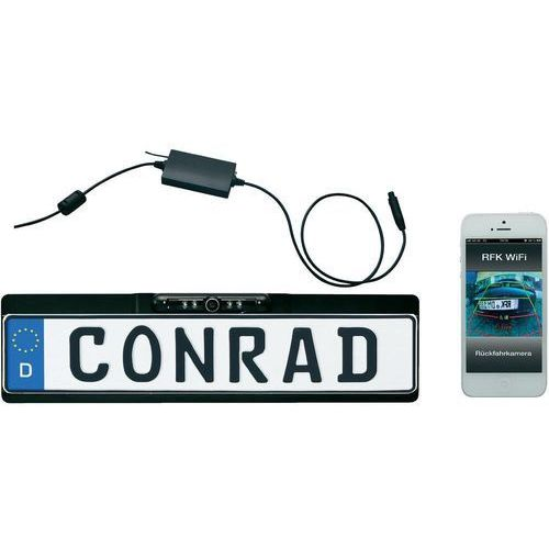 Bezprzewodowy system wideo cofania dnt WiFi z RFK aplikacją na smartfon (4011942521474)