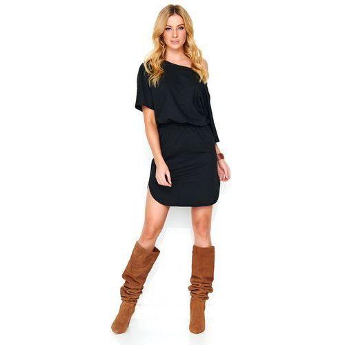 Makadamia sukienka damska 40 czarna (5902041685992)