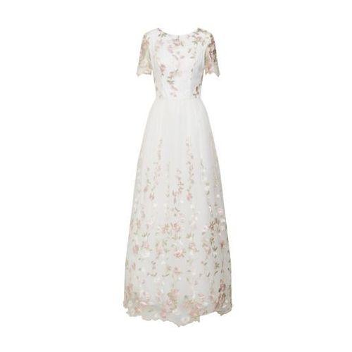 Chi Chi London Suknia wieczorowa mieszane kolory / biały, kolor biały