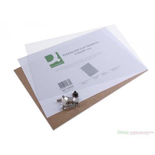 Antyrama Q-CONNECT pleksi 21x29,7cm A4 KF15660 - sprawdź w Sklep papierniczy