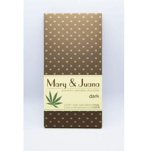 Ciemna czekolada konopna Mary&Juana 80g