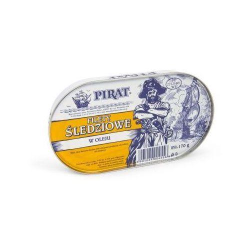 Filety śledziowe w oleju 170 g Pirat